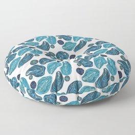 Ocean Oysters Floor Pillow