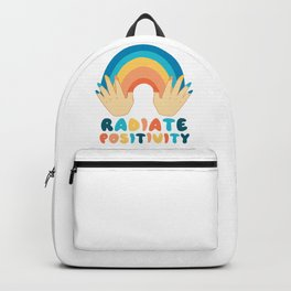 Spread and radiate positivity Backpack