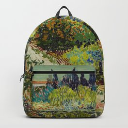 Vincent Van Gogh - Garden at Arles Backpack