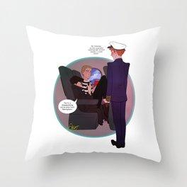 Cabinlock Throw Pillow