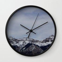 Telluride, Colorado Wall Clock