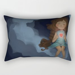Let your lirght shine. Rectangular Pillow