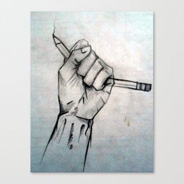 uninspired Canvas Print