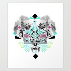 Undefined creature Art Print