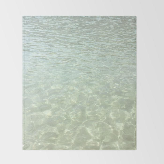 Shallow Waters Throw Blanket