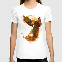 phoenix T-shirts featuring Phoenix by Barruf