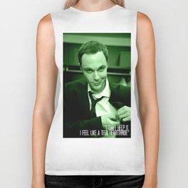 Sheldon Cooper Biker Tank
