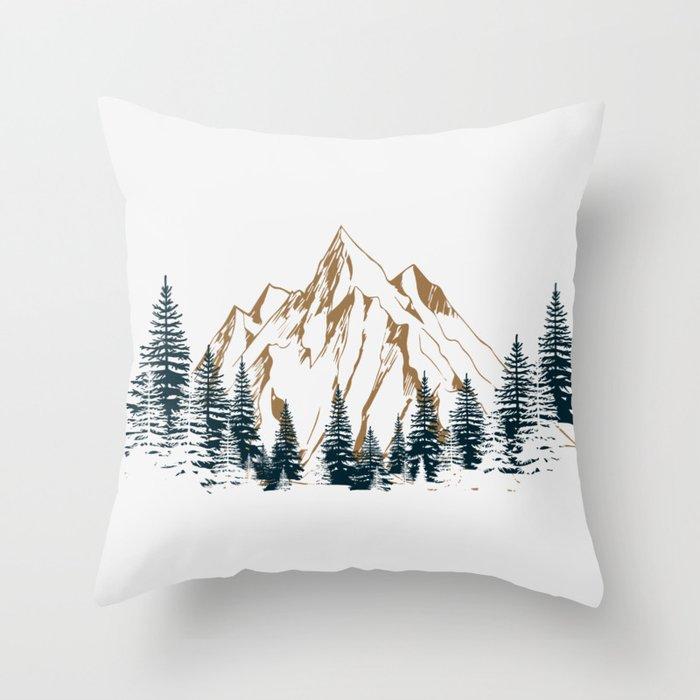 mountain # 4 Deko-Kissen