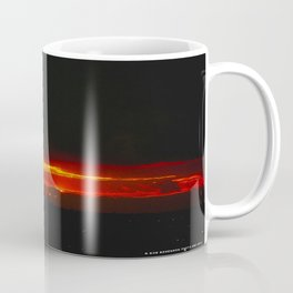 There's a Feeling I Get When I Look to the West #3 (Chicago Sunrise/Sunset Collection) Coffee Mug