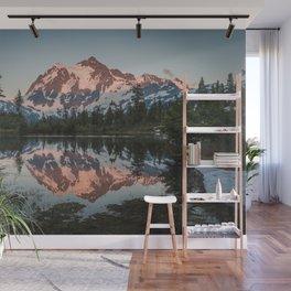 Cascade Sunset - Mt. Shuksan - Nature Photography Wall Mural
