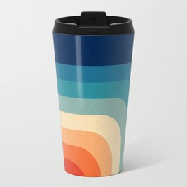 Retro 70s Color Palette III Travel Mug