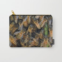 Beautiful Bees Carry-All Pouch