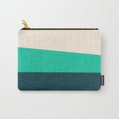 Stripe II Fresh Mint Carry-All Pouch