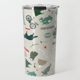Outdoorsy and crafty Travel Mug