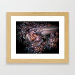 Chaos Vortex Framed Art Print