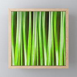 Tropical Green Riverweed Framed Mini Art Print