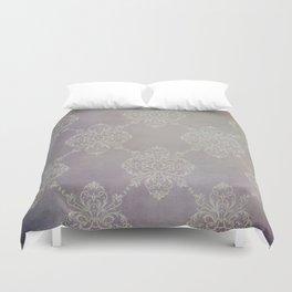 Vintage Damask - Violet Duvet Cover