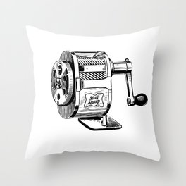 Stay Sharp Throw Pillow