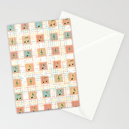 Music notes IV Stationery Cards