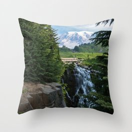 View from Paradise Throw Pillow