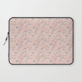 Wild Blueberries (pink) Laptop Sleeve