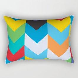Direction Design Rectangular Pillow