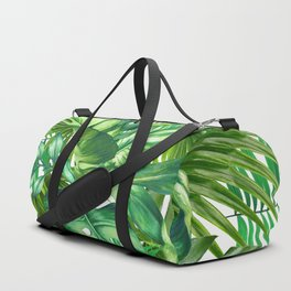 green tropic Duffle Bag