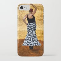 spanish iPhone & iPod Cases featuring Spanish Dancer by Anthony M. Davis