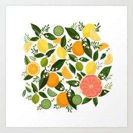 Punch Bowl Pattern Art Print