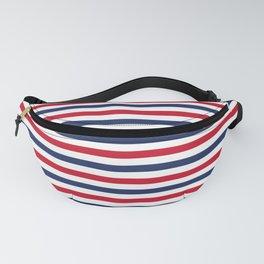 Navy Stripes Fanny Pack