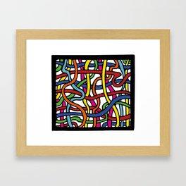 Pattern_1 Framed Art Print