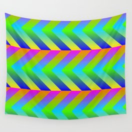 Colorful Gradients Wall Tapestry