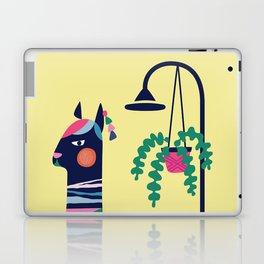 Llama in the tub Laptop & iPad Skin