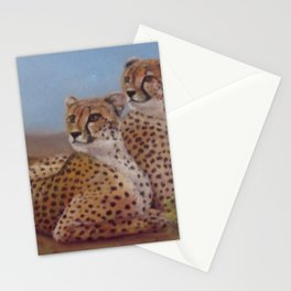 Cheetahs on the Lookout Stationery Cards