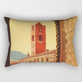 Old Ascoli Piceno Rectangular Pillow
