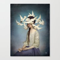 christian Canvas Prints featuring The Beginning by Christian Schloe