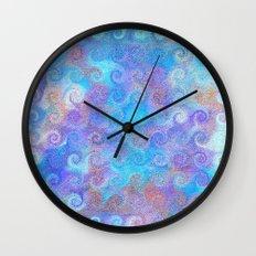 Thalassa's Curls Wall Clock