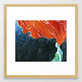hurricane Framed Art Print