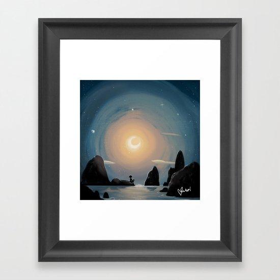 Crescent Moon by vashtiharrison