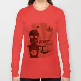 Robot Roast Long Sleeve T-shirt