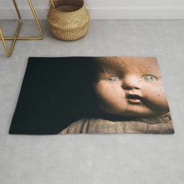 Creepy Doll Rug