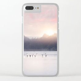 Sunset v6 Clear iPhone Case