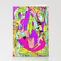 joker Stationery Cards featuring Joker by Ingrid Padilla