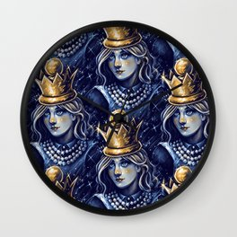 Queen Alice Wall Clock