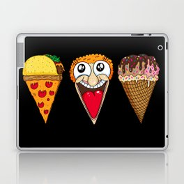 Taco Pizza Cone Laptop & iPad Skin