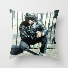 Eazy Classic Rap Photography Throw Pillow