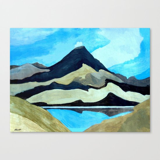 Tama Lakes Canvas Print