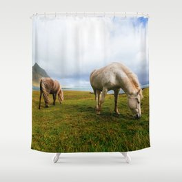 Horses 5 Shower Curtain