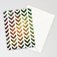 Nebula Chevrons Stationery Cards