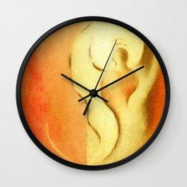 Angel of joy and creativity Wall Clock